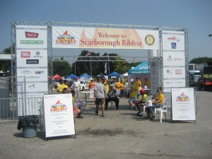 Scarborough Ribfest 2012